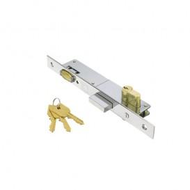 Κλειδαριά ασφαλείας μπίλιας με κύλινδρο για πόρτες 20-25mm