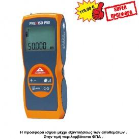 Μετρητής απόστασης Laser Prexiso P50