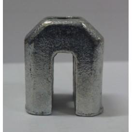 Στόπερ Π  για συρόμενα κουφώματα αλουμινίου