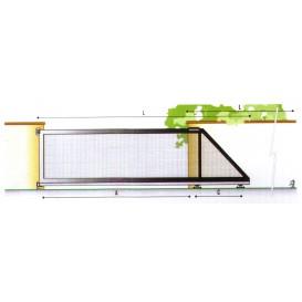Μηχανισμός αυλόπορτας - σύστημα εναέριας συρόμενης πόρτας