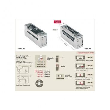Ηλεκτρικό αντίκρισμα (κυπρί) 1440R χωρίς λάμα