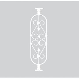 Κάγκελα αλουμινίου Α1