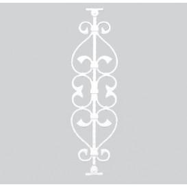 Κάγκελα αλουμινίου Β1