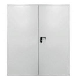 Πόρτα αποθήκης απλή μεταλλική, μη πυράντοχη.